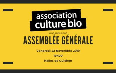 Assemblée Générale 22 novembre 2019