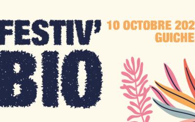 Rendez-vous au Marché de producteurs Festiv'Bio le dimanche 10 octobre 2021 à Guichen